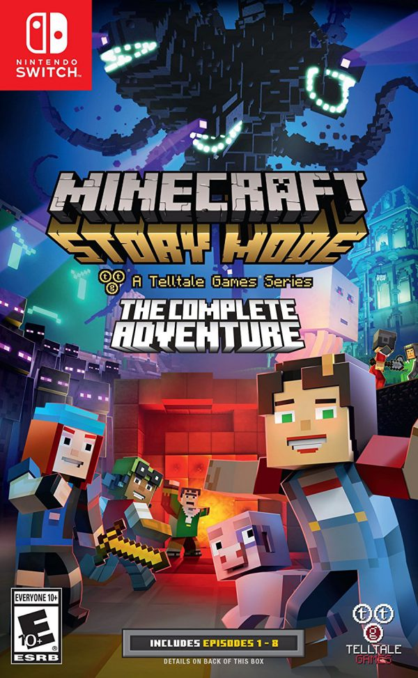 Minecraft Story Mode Switch