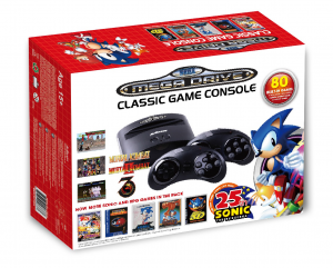 Sega Genesis Classic Game Mega Drive + 80 Jogos