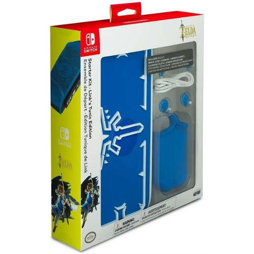 Case Starter Kit Zelda Icon Edition Nintendo Switch