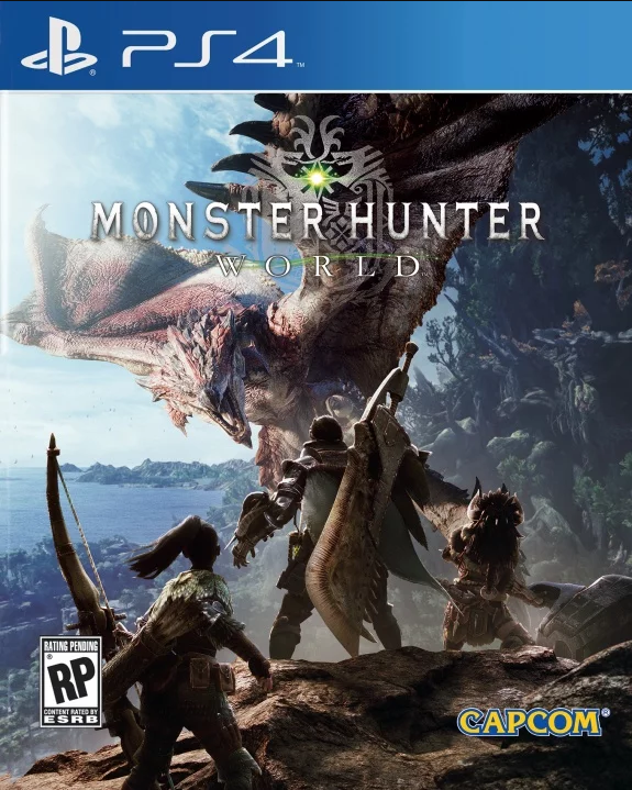 Game Monster Hunter World ps4