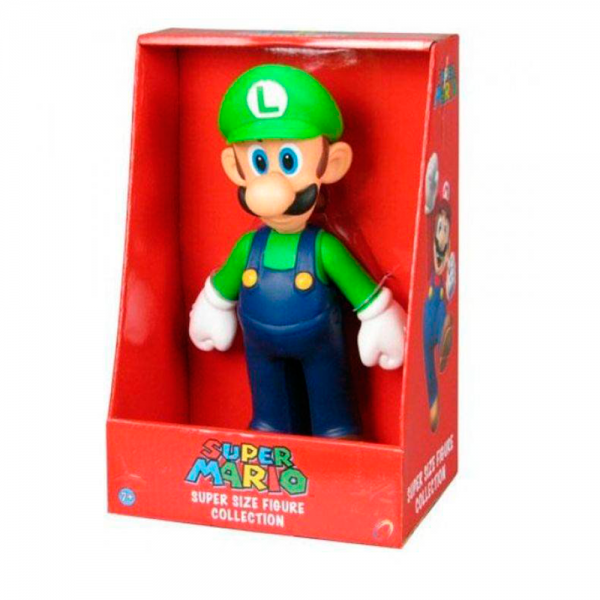 Boneco Super Size Figure Collection Luigi