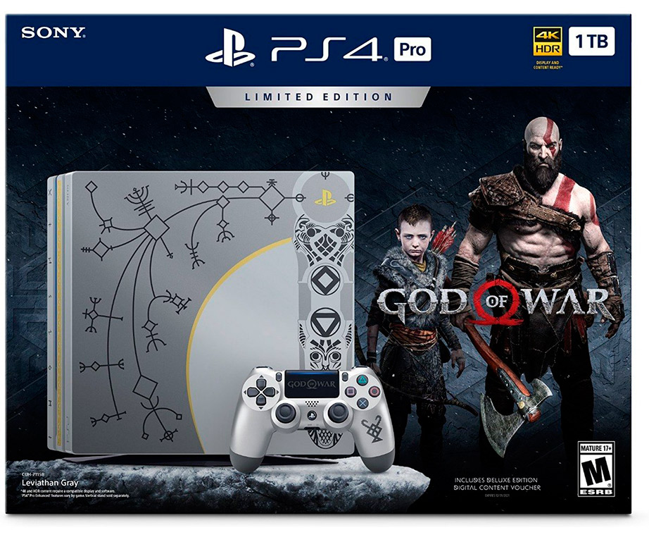 PlayStation 4 PRO 1TB Limited Edition God of War
