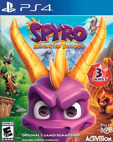 Spyro Reignited Trilogy Game - Playstation 4