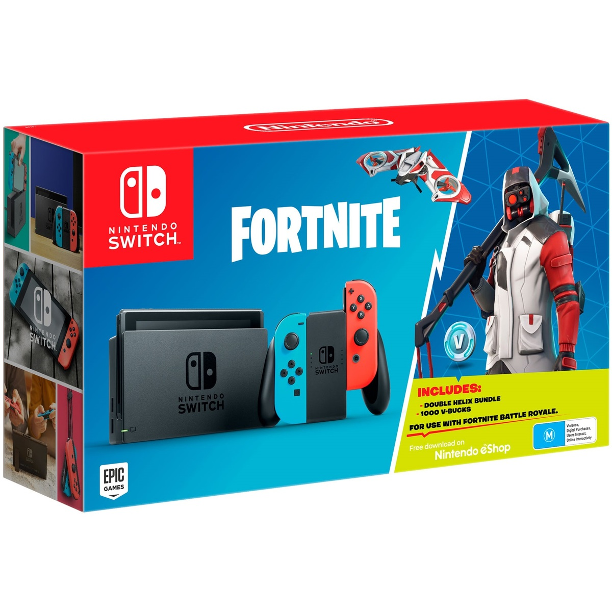 Nintendo Switch Console + Fortnite